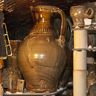 Large jug in wood-salt kiln