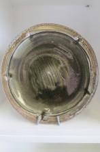 Side plate by Jeremy Steward wood-fired salt-glaze