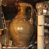 Large jug in wood-salt kiln