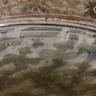 Plate detail, wood-fired salt-glaze