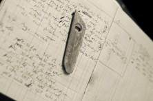 Slip and glaze notebook for wood salt-firing