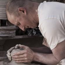 Jeremy Steward, wheel throwing stoneware