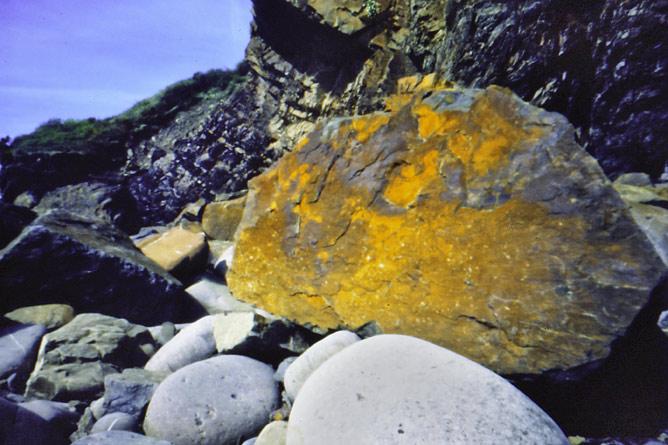 Amroth Beach. Pinhole image by J.P.Kavanagh