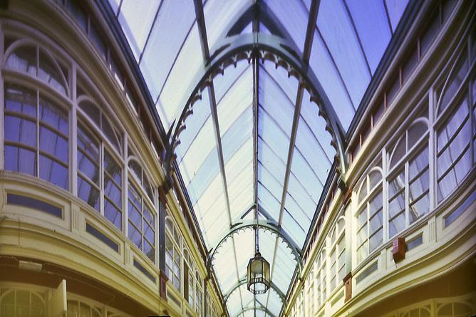Castle Arcade Cardiff. Pinhole by J.P.Kavanagh