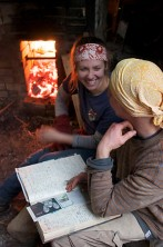 Ana Simmons & Jeremy Steward, by wood fired salt-kiln