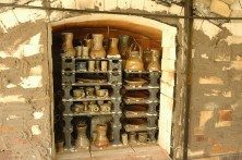 Salt-glazed pots