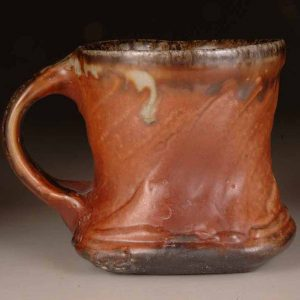 Mug Rouletted: Wood Fired Salt Glaze by Jeremy Steward