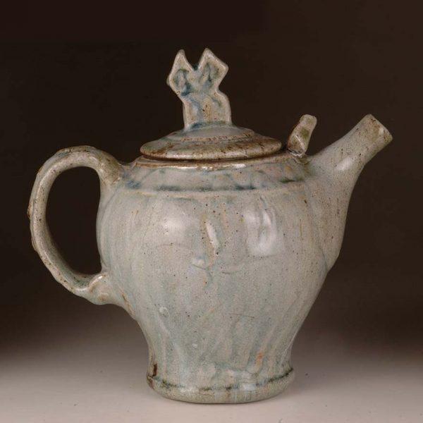 Large Teapot: Wood Fired Salt Glaze by Jeremy Steward