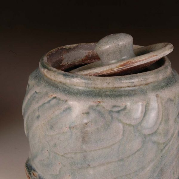 Small Lidded Jar: Wood Fired Salt Glaze by Jeremy Steward