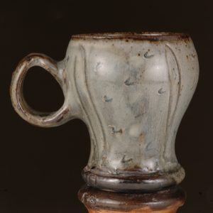 Large Round Mug Wood-fired Salt glaze by Jeremy Steward